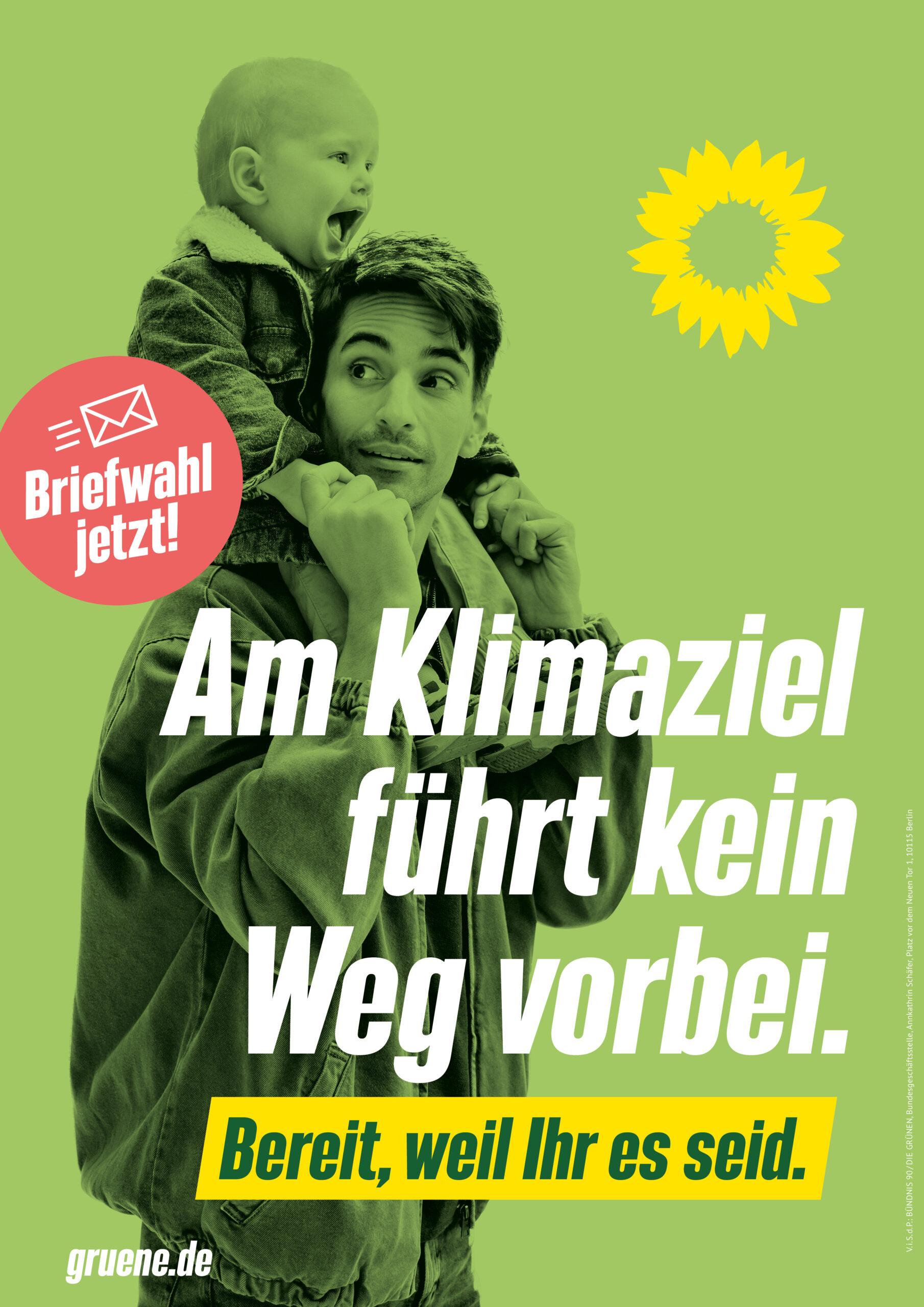 So machen wir GRÜNE Deutschland klimafreundlich!
